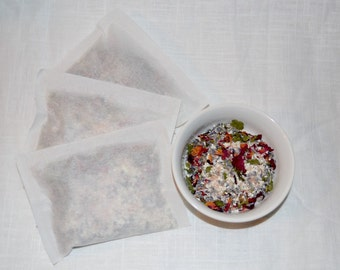 Lavender, Spearmint & Rose Bath Tea