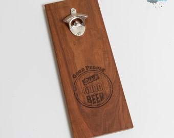 Beer Bottle Opener - Wall Hanging Bottle Opener