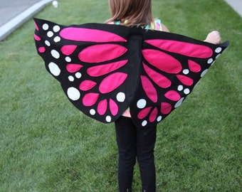 Whimsical Butterfly Wings, Halloween Costume, Birthday Oufit, Butterfly, Monarch Wings, Butterfly Wings, Kids Butterfly Wings, Dress Up