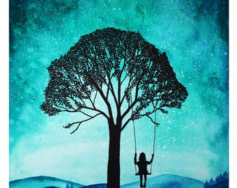 Daydreamer A4 Print
