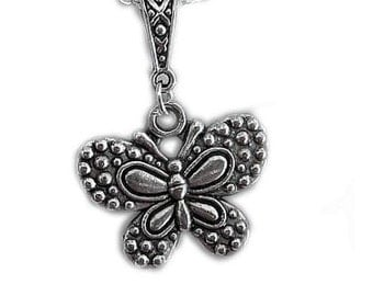 Silver Butterfly, Butterfly Jewellery, Pendant Necklace, Necklace, Butterfly pendant, butterfly jewellery, UK, present, birthday, gift