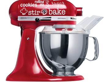 Stand Mixer Decal Etsy
