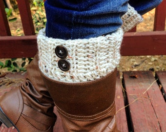 Boot cuffs, Crochet boot cuffs