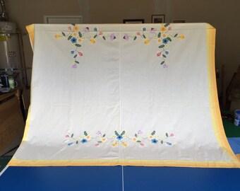 Hand Appliquéd Bedspread
