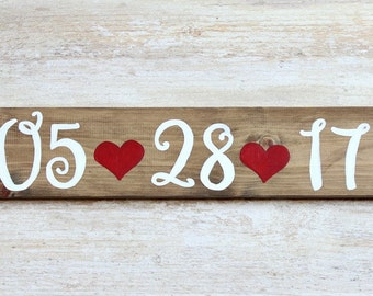 Rustic Wedding Save the Date sign, Thank you sign, Wedding date sign, Engagement Photo Prop sign, Rustic Wedding ideas, Wedding Photo Prop