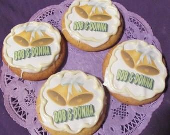 50th Anniversary 12 Sugar Cookies