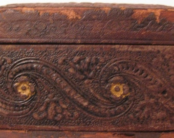 Vintage Wooden Divided Box