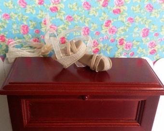 Beige wedge Sandals for Blythe