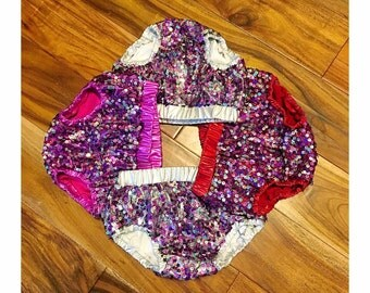 Purple Sequin bloomers