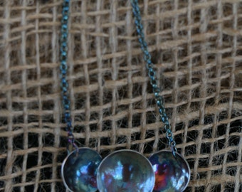 Sterling Silver Galaxy Necklace