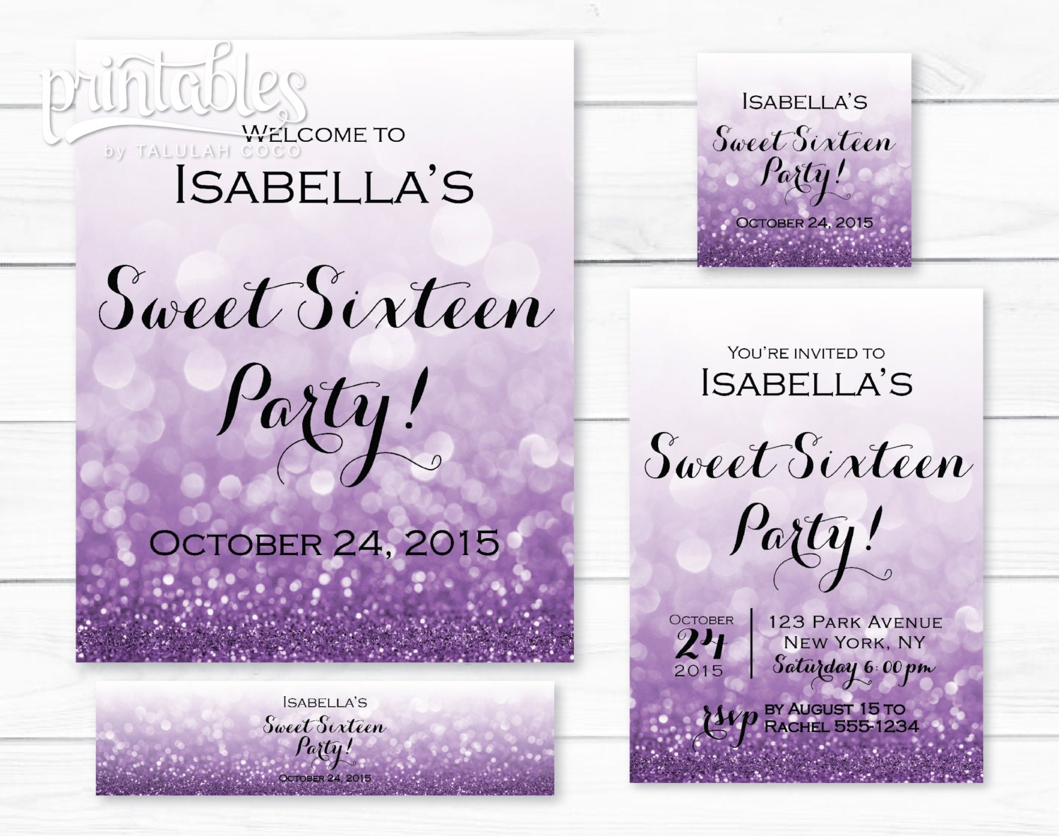 Amazing image intended for free printable sweet 16 invitations
