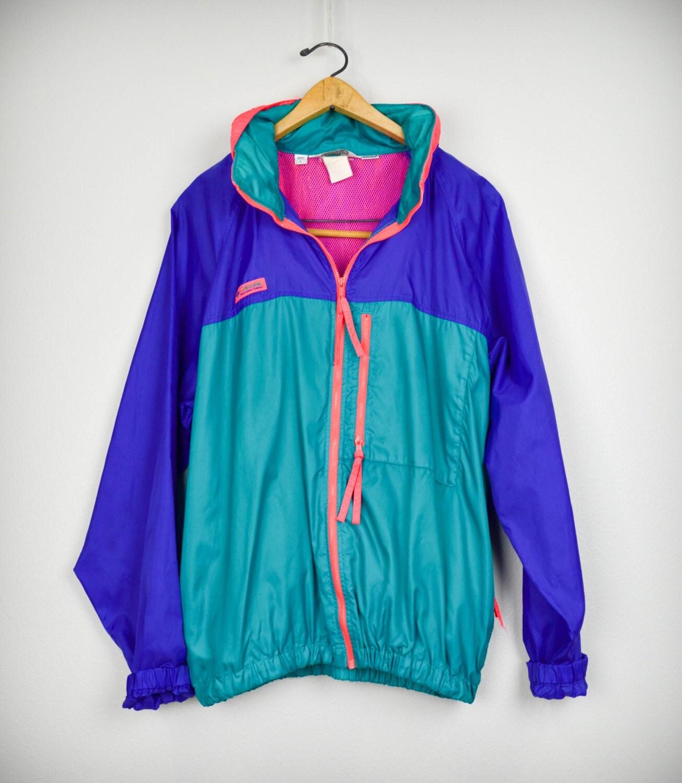 90s windbreaker 90s clothing vintage clothing columbia