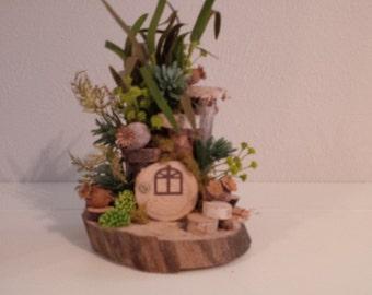 OOAK Fairy House: Tiny House Swamp Shack
