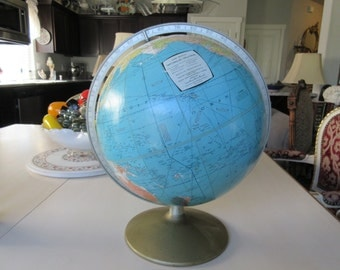 RAND MCNALLY WORLD Globe