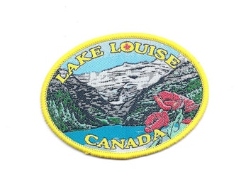 Vintage Lake Louise Canada Patch