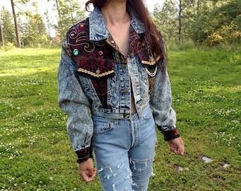 Radass 90s Cropped Denim Jacket