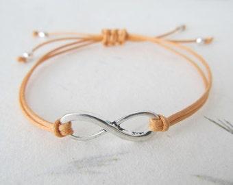 Infinity bracelet, friendship bracelet