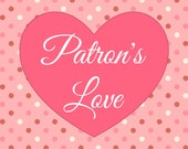 Patron's Love Coupon - Choose how much to pay for my creations