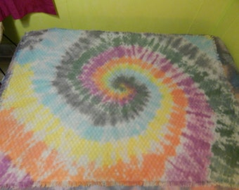 Tie Dyed Blanket