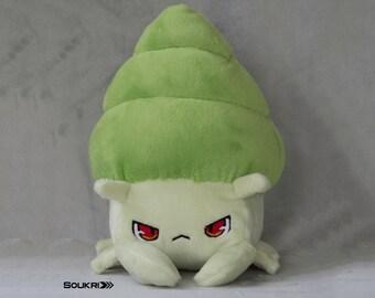 25% OFF Green Cranky Crab // Cute Lime Crustacean Plushie // Handmade Hermit Crab Stuffed Animal Plush Toy
