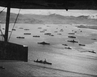 24x36 Poster . Aleutian Islands Campaign, Kiska 1943