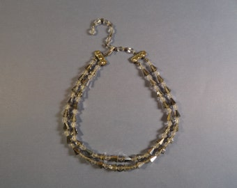 Old Glass Choker Necklace