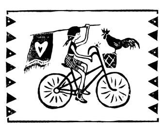 Art Print - Pedal Power
