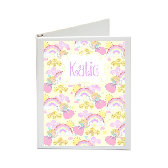 Princess Printable Binder Cover Set with Front & Back Covers and Spine inserts - Dress up Your Three Ring Binder!