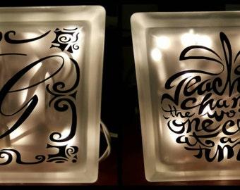Custom Teacher Nightlight