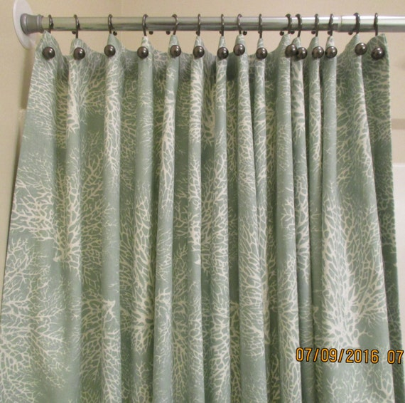 Items Similar To Shower Curtain Extra Wide Extra Long