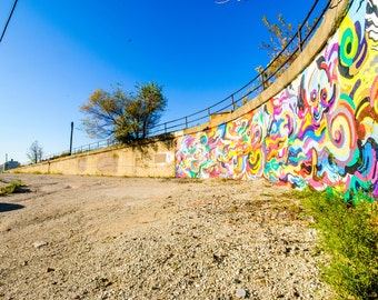 Chicago Photography Art Print, Pilsen Graffiti #1