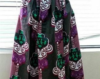 African Maxi skirt Ankara Maxi skirt African clothing Ankara skirts