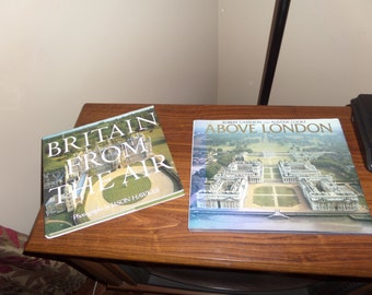 Britain from the Air & Above London    SET of 2 Hardcover Coffe Table Books