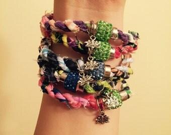 6 Lotus Bracelets
