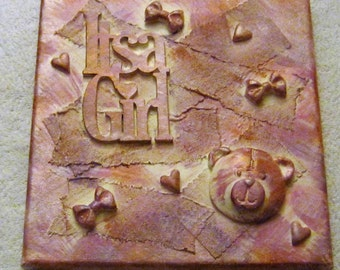 Its a girl canvas (REDUCED PRICE)