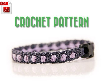 Crochet bracelet pattern - Crochet pattern for bracelet - crochet - jewelry pattern - diy gifts - instant download - MudenoMade