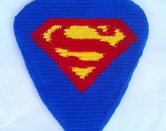 Superman bike seat cover
