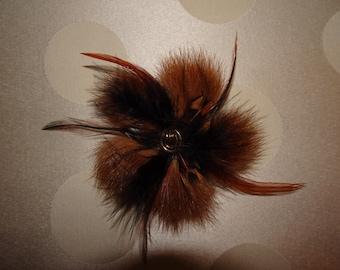 PIN recycled fur!