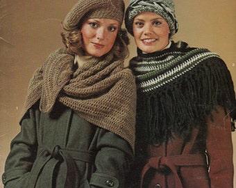 Vintage Knitting Pattern, Columbia Minerva Hats N Things, Vintage Crochet Patterns, Hat Knitting Patterns, Hat Crochet Patterns