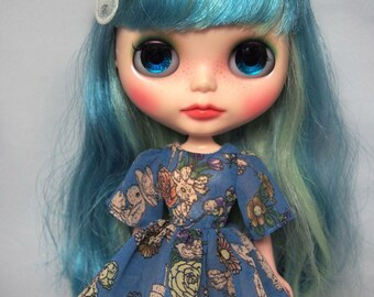 Chiffon dress (patterns & instructions for Blythe)