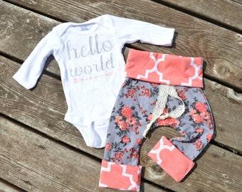 Baby girl harem pants, harem pants, baby pants, baby girl pants,