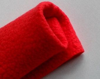 Wool felt sheets squares wool felt sheets felt fabric merino wool felt Australia merino wool craft supplies hand made felt Red Hot Red 11483