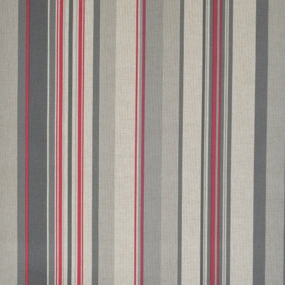 Home Decor Fabric by meter Width 110 280 cm Beige Red