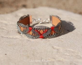 Bracelet argent, Le coeur d'Argent.