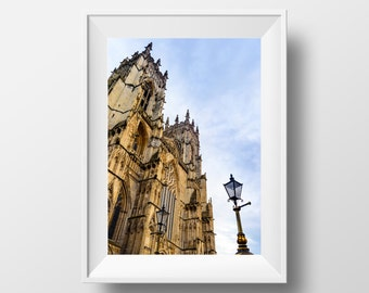 York Minster / Cathedral / Historic / City of York / Yorkshire / Architecture