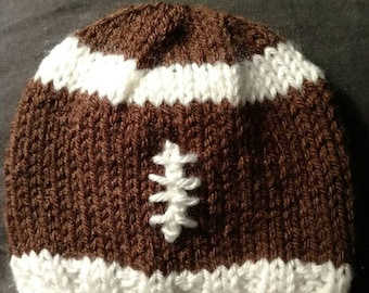 Ragnar Baby Hat / Knitted Baby Football Hat