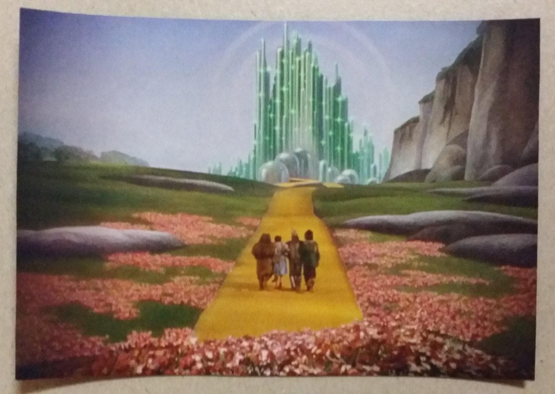 The wizard of oz emerald city refrigerator magnet 5 x 3 for Emerald city nickname