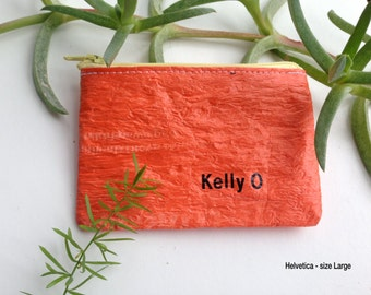 Personal Text - personalise your made by kelly o upcycled accessory