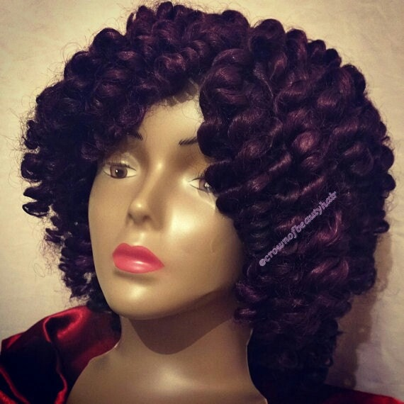 TWIST OUT, Synthetic, Kanekalon hair, Crochet, Crochet wig, Secure ...
