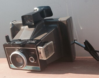 Vintage Polaroid Colorpack II (2) Camera Old Photography Funky Hipster Shelf Sitter